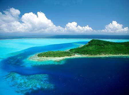 Bora-bora polynesie