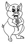 Dessin cochon