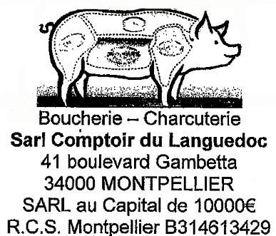 Sarl comptoir languedoc